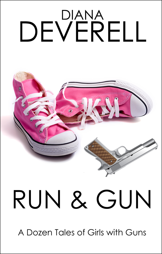 Run & Gun - An FBI Special Agent DaWanda Shepherd Mystery by Diana Deverell Book Cover