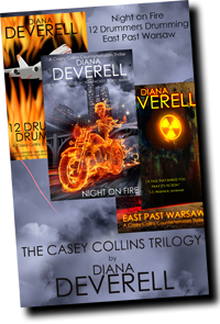 Casey Collins Trilogy by Diana Deverell