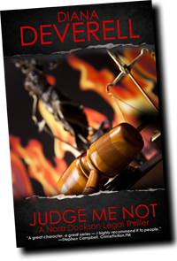 Judge Me Not by Diana Deverell